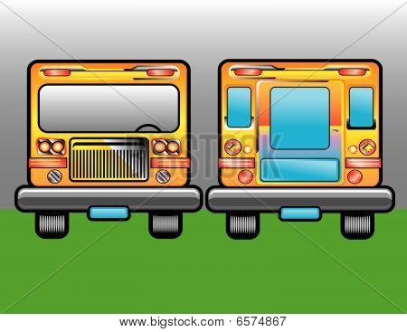Scholastic bus