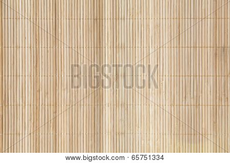 Bamboo brown straw mat