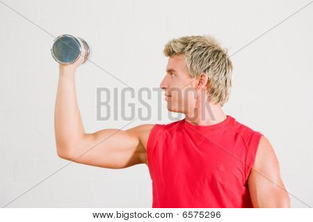 Training with dumbbells