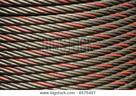 Cable Steel Line Punctuate