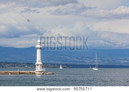 lake Leman in Geneva