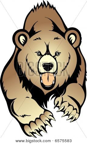 Vector de Grizzly Bear