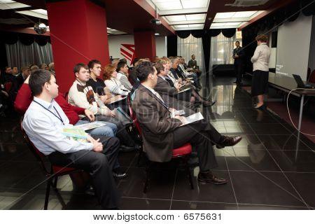 During Presentation