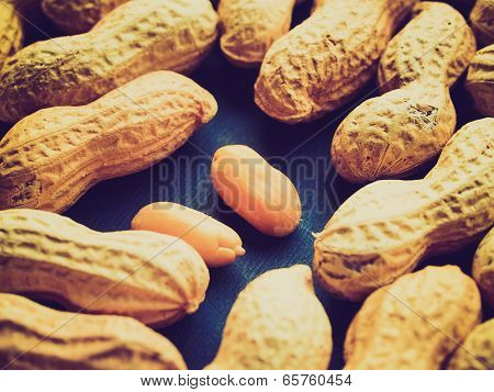 Retro Look Peanut Picture