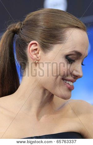 LOS ANGELES - MAY 28:  Angelina Jolie at the