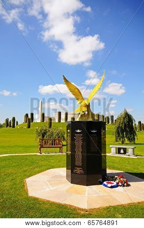 Royal Auxiliary Air Force Monument.