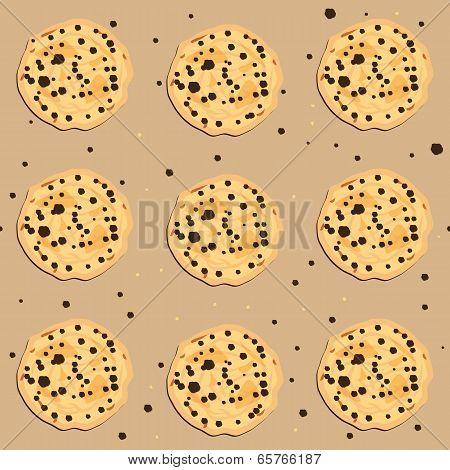 Seamless Cookies Pattern