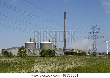 Brunsbuettel - Fertilizer Production