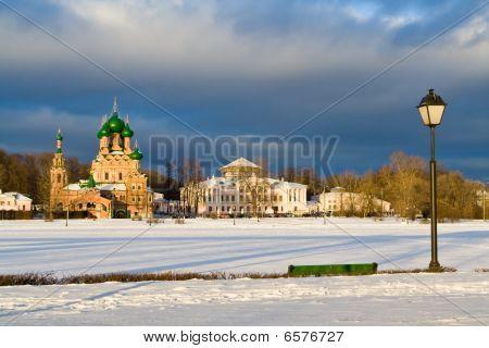 Ostankinsky Pond, Moscow, Russia