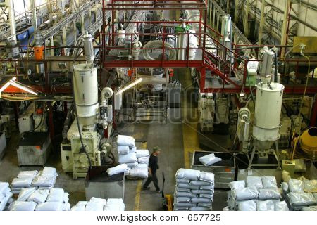 Factory On Manufacture Of Pipes - 3