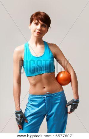 Mulher esportiva