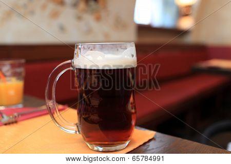 Pint Of Black Beer