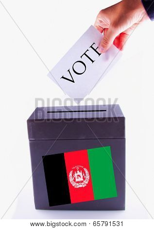 Afghanistan Urn For Vote