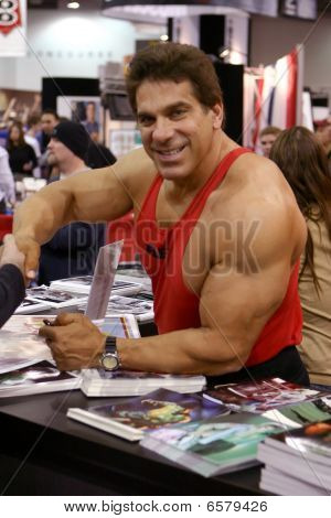 Lou Ferrigno Arnold Fitness Saúde Expo