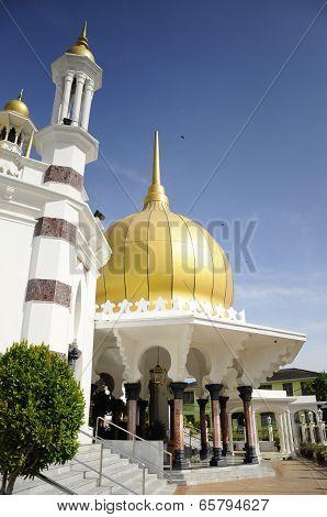 Entrance of Ubudiah Mosque at Kuala Kangsar, Perak