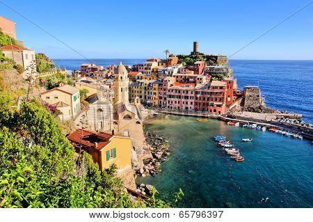 Scenic Italian coastal village
