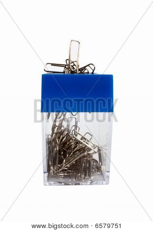 Paper Clip Container