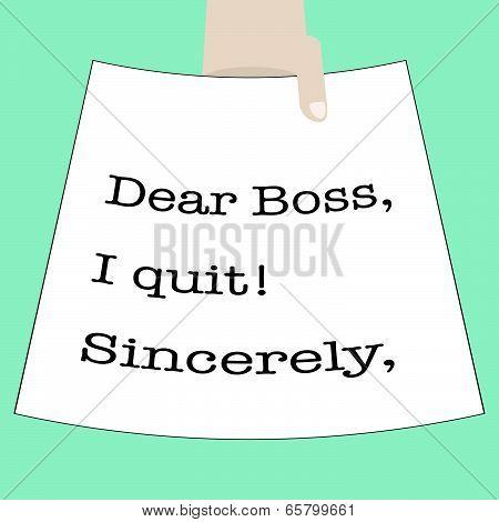 Quit Work