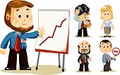 stock photo of cartoon character  - Presentation - JPG