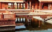 stock photo of mughal  - Fatehpur Sikri - JPG