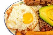 stock photo of medellin  - Colombian cuisine - JPG