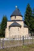 picture of serbia  - Kamena Gora small church - JPG