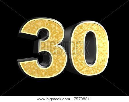 golden number 30
