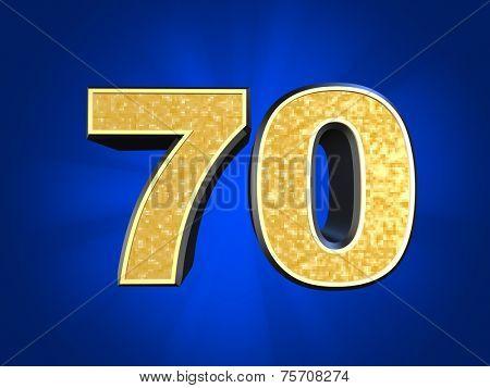 golden number 70