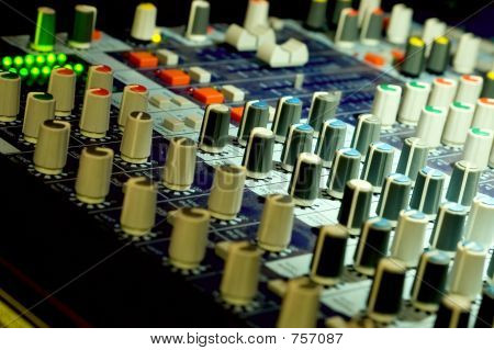 Mixer - audio panel