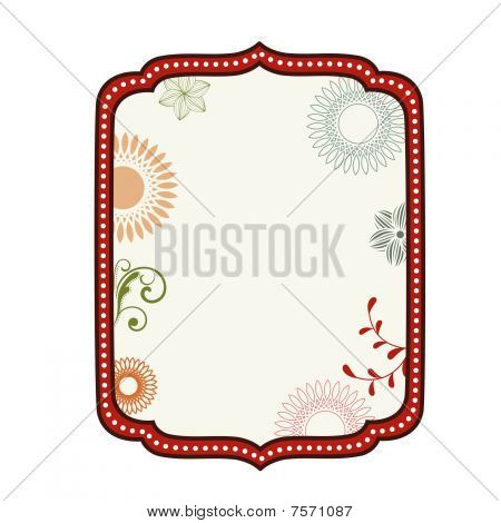 Decorative Label Frame