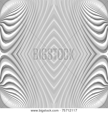 Design Monochrome Geometric Striped Background