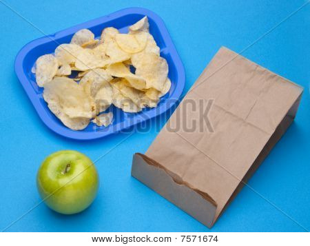 Healthy Vs Junk Food School Lunch