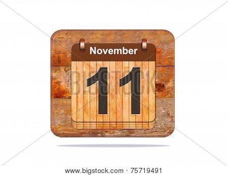 November 11.