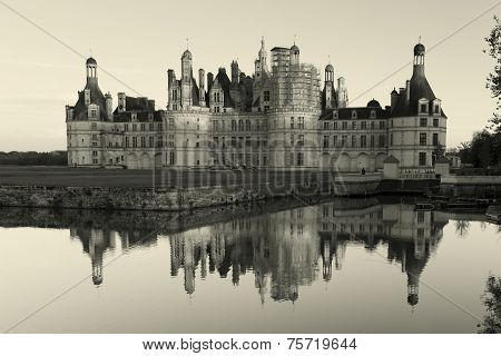 Castle Of Chambord,  Loire Et Cher, Centre Region, France