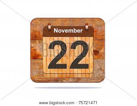 November 22.