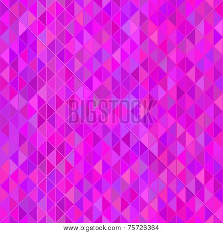 Abstract background Magenta triangle mosaic Seamless pattern