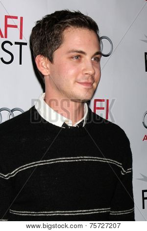 LOS ANGELES - NOV 7:  Logan Lerman at the AFI FEST 2014 Young Hollywood Roundtable at the TCL Chinese 6 Theaters on November 7, 2014 in Los Angeles, CA