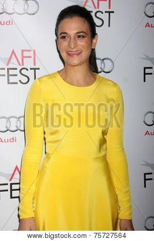 LOS ANGELES - NOV 7:  Jenny Slate at the AFI FEST 2014 Young Hollywood Roundtable at the TCL Chinese 6 Theaters on November 7, 2014 in Los Angeles, CA