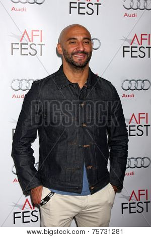 LOS ANGELES - NOV 8:  Yann Demange at the AFI FEST 2014 Photocall at the TCL Chinese 6 Theaters on November 8, 2014 in Los Angeles, CA