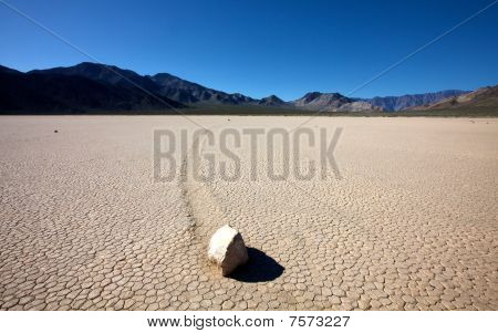 Racetrack im Death valley