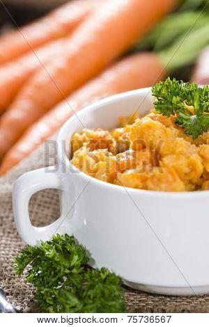 Fresh Made Carrot Stew