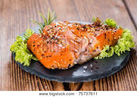 Piece Of Smoked Salmon