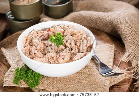 Portion Of Tuna Salad