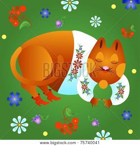 Fabulous Red Cat