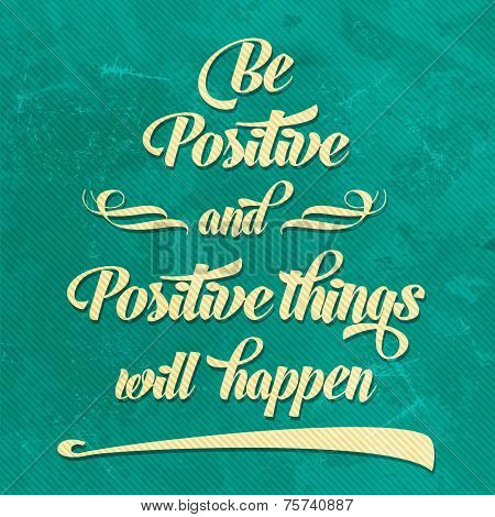 'be Positive