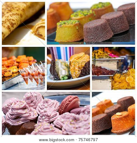 Assortment Of Pastries French
