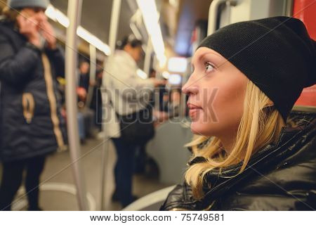 Woman In The Subway