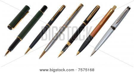 Pen And A Ballpen