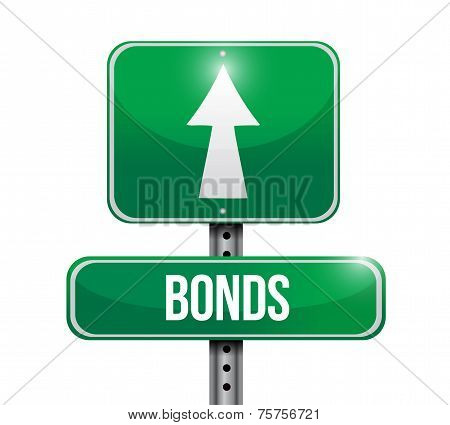 Bonds Street Sign Illustration Design