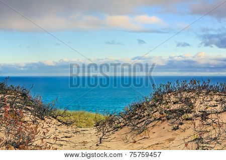 Grand Sable Dunes And Lake Superior
